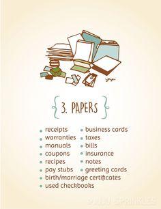 Konmari Category 3 Papers copy