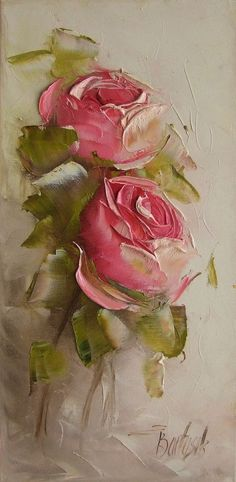 Art painting impressionism palette knife 47 ideas for 2019 Oil Painting Flowers, Abstract Flowers, Painting & Drawing, Abstract Art, Abstract Flower Paintings, Rose Paintings, Landscape Paintings, Palette Knife Painting, Arte Floral