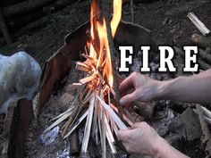 Making Fire Without Tinder