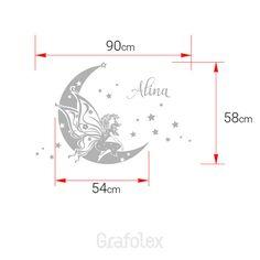 Fata in Chiffon sulla luna con i vostri bambini di di Grafolex