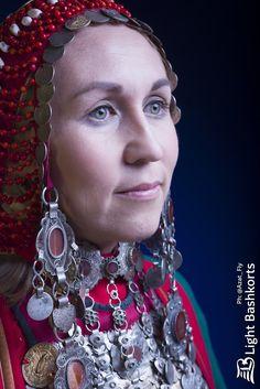 Национальный костюм  Башкортостан  Башкирка