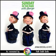 Sunday in the Park with George Jenna Russell Dot Doll FaBi DaBi Doll