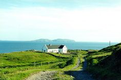Clare Island Cottage, Co. Clare Island, Seaside Cottages, Golf Courses, Places To Go, Coastal, Mountains, Architects, Travel, House
