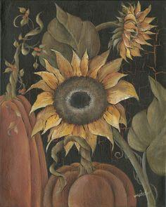Harvest Sunflower by Musser,Michele