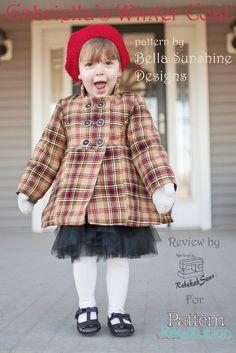Gabriella's Winter Coat by Bella Sunshine Designs