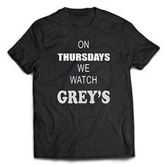 Grey's anatomy T-Shirt. New Unisex Adult Black Shirt Tees…