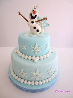 "Frozen Disney Cake ""Olaf"". Could be an achievable design?"