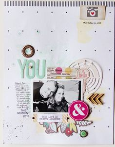 You - Massi e Pamy by lory - Scrapbooking Kits, Paper & Supplies, Ideas & More at StudioCalico.com!