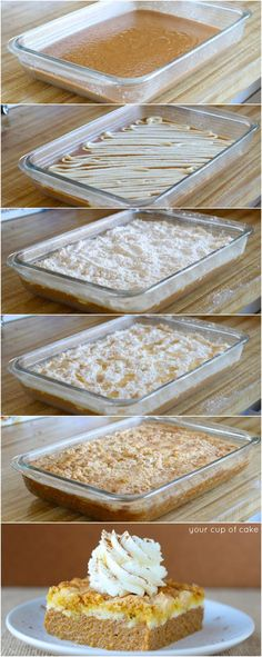 Pumpkin Cream Cheese Dump Cake (and how I got dumped) - Your Cup of Cake