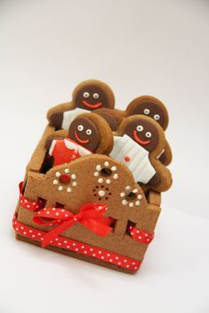 Gingerbread Men & Carrier tutorial