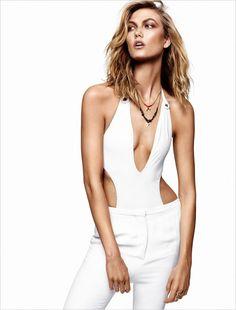 Karlie Kloss for Glamour France by Alique #NEB #noiretblancconcept #blackandwhite