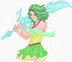 With Ice Queen sword