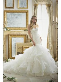 Robe de mariee princesse longue traine