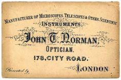 Letterology: Victorian Slide Specimens