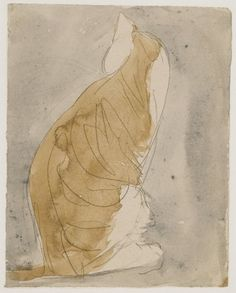Gwen John (Gales, 1876-1939). Study of a Cat