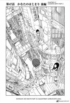 knights of sidonia | Tip : Click on the Knights of Sidonia 47 manga image to go to the next ...