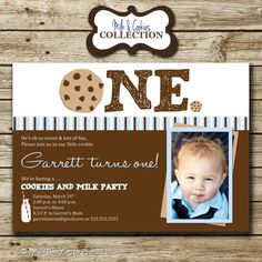 Milk and Cookies Birthday Party Photo