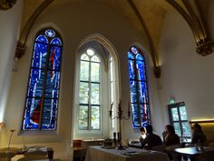 Travel and Lifestyle Diaries Blog: Cologne, Germany: Sleeping in a Former Monastery   Breakfast in a Chapel (Hopper Hotel St. Josef)