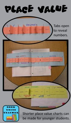 Great Place Value Foldable Organizer for Interactive Notebooks ~ I love that this is adaptable for several grade levels. Free Printables are included.