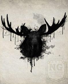Moose by Nicklas Gustafsson #moose #elk #deer #antlers #animal