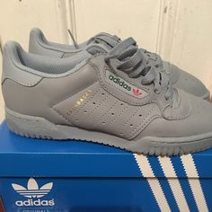 a589638e Yeezy Shoes | Calabasas Yeezy (Grey ) Brand New With Box | Color: Gray