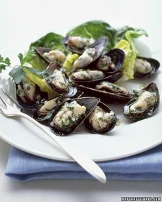 Mussels in Parsley Vinaigrette