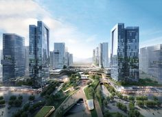 Gallery of 10 DESIGN Wins Competition for Massive Urban Development in Zhuhai…