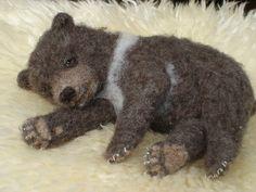 Needle Felted Kodiak Bear Cub | Flickr - Photo Sharing!