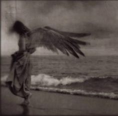 angel on the beach by Kamil Vojnar