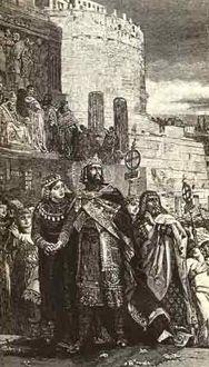 Marozia (* 892 – † 955), noble romana también conocida como Mariozza, era hija de Teodora (hermana de Adalberto de Toscana) y del senador romano Teofilacto I (patricio de origen alemán), aunque otras fuentes afirman que su verdadero padre fue el papa Juan X.Fue una de las mujeres más influyentes de su época desde que, en 907, se convirtió en la amante del papa Sergio III.