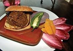 Pulled Elk Sandwiches