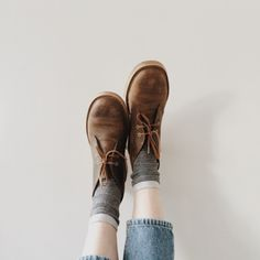 vera astrid kristina - leather lace up boots.