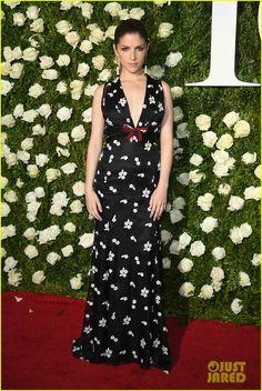 Former Nominee Anna Kendrick Attends Tony Awards 2017!