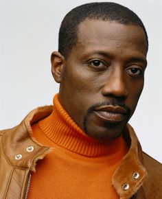 Wesley Snipes, male actor, black, beauty, moustache, intense eyes, sexy guy, steaming hot, masculine, action, portrait, photo