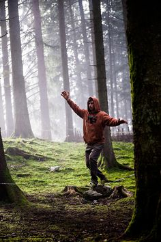 Lucie Gertsch Photography | Mattia Gertsch - Slackline in the forest