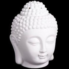 Oliebrander Boeddha Hoofd Verkrijgbaar op www.feelingsonline.nl Aroma Diffuser, Oil Diffuser, Aromatherapy Benefits, Oil Burners, Sore Muscles, Essential Oils, Sculpture, Buddha Head, Diffusers