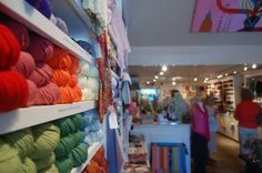 Westport Yarns sells an array of different types of yarn from its store, located at 582 Post Road E., Westport. Photo: Anthony Karge / Westp...