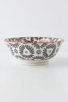 atom art serving bowl from anthropologie (perfect for serving salads for 2!)