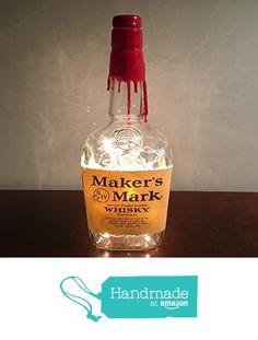 Bottle Lamps, Liquor Bottles, Bar Lighting, Makers Mark, Whiskey Bottle, Free, Amazon, Drinks, Lady