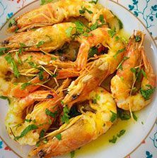 ΓΑΡΙΔΕΣ ΜΕ ΟΥΖΟ Food Network Recipes, Food Processor Recipes, Cooking Recipes, Healthy Recipes, Greek Recipes, Fish Recipes, Seafood Recipes, Prawn Fish, Fish And Seafood
