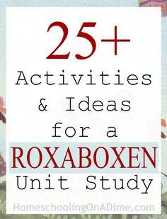 FREE Roxaboxen Unit Study