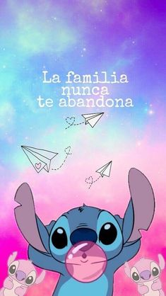 Cartoon Wallpaper Iphone, Disney Phone Wallpaper, Iphone Background Wallpaper, Locked Wallpaper, Cute Cartoon Wallpapers, Disney Stitch, Cute Disney Drawings, Cute Drawings, Stitch Et Angel