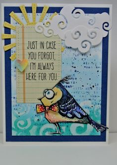 MIX179 I'm Here For You by Laurene - Cards and Paper Crafts at Splitcoaststampers
