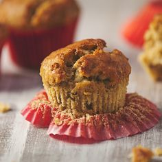Banana Coconut Pecan Muffins - These vegan muffins are a great way to start your day. Keep browned bananas in the freezer so you always have some ready for baking.