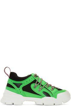 e1b777d39 Gucci - Green Flashtrek Sneakers