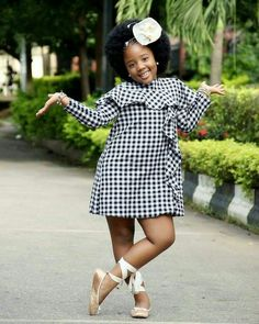 The most popular african clothing styles for women in kente wedding fashio. by laviye The most popular african clothing styles for women in kente wedding fashion dress, kente kaba, Ankara Styles For Kids, African Dresses For Kids, African Children, Latest African Fashion Dresses, African Print Dresses, Dresses Kids Girl, African Wear, Girl Outfits, Fashion Outfits