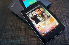 The Nexus 7. I actually love it. Something in me still craves the iPad mini (had a 1st generation but gave it away - too heavy for all the reading I do). Mostly missing it because of some of the apps I use across iOS that haven't made it to Android.