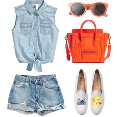 Designer Clothes, Shoes & Bags for Women Jean Shorts, Denim Jeans, Ipad App, Ios, Shoe Bag, Polyvore, Stuff To Buy, Shopping, Collection