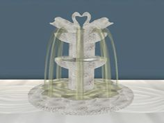 Small Ice Swan Champagne Fountain Touch For Glass Of Champagne - Food Connection @ Depoz...marketplace.secondlife.com