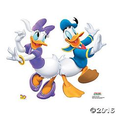 Donald Duck & Daisy Duck Stand-Up